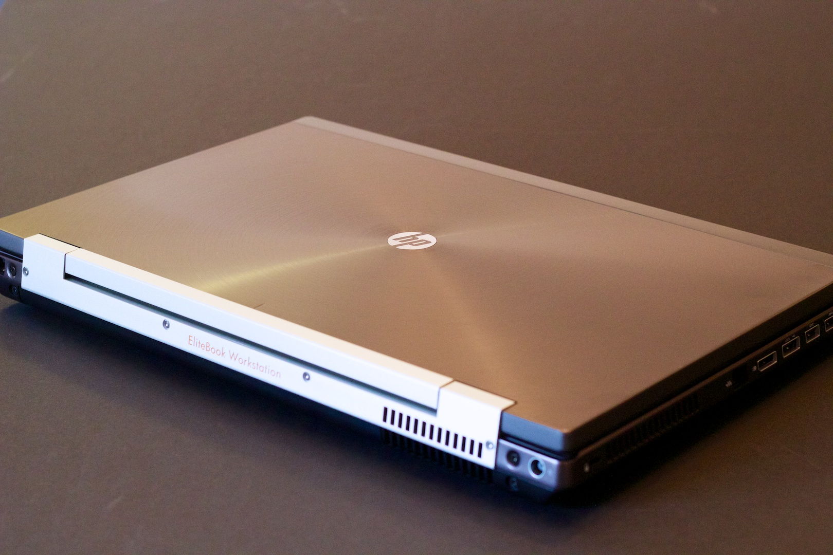 The HP 8770w 17-inch lapzilla.