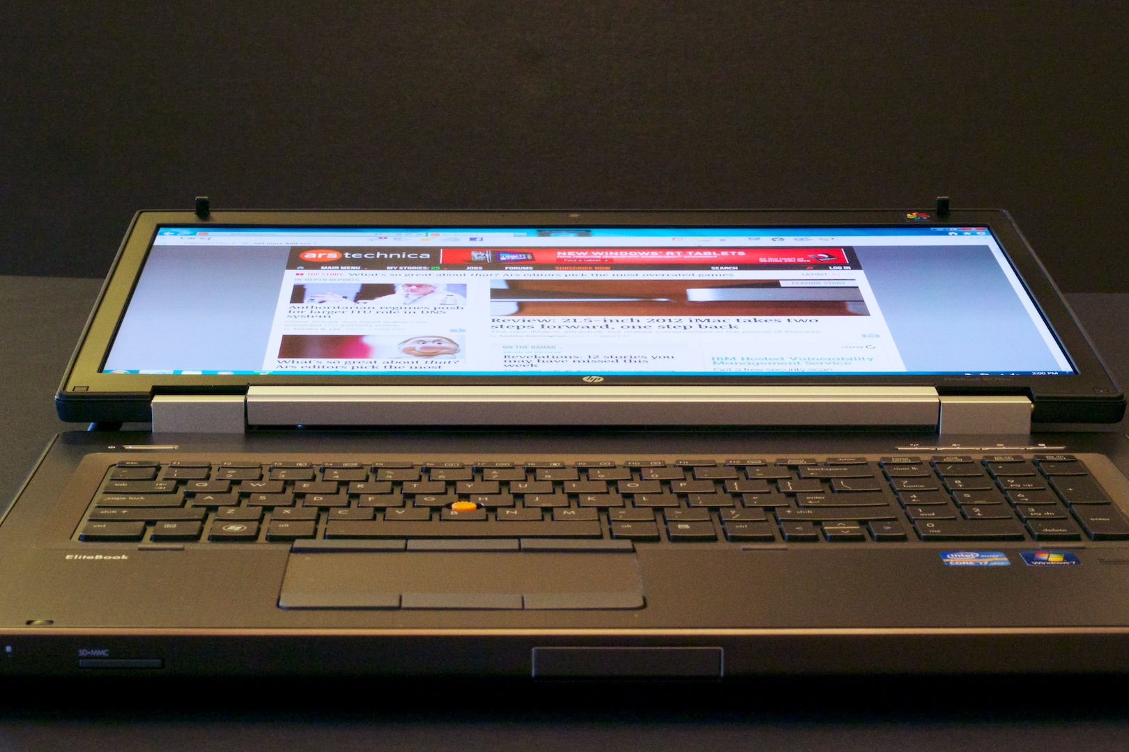 Hands-on with $6,400 of workstation-class laptop | Ars Technica