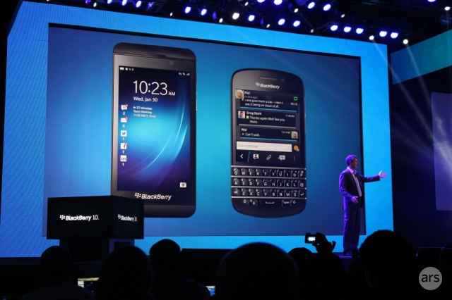 BlackBerry's new Z10 to arrive on big four US carriers, starts at $149