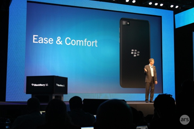 BlackBerry's new Z10 to arrive on big four US carriers