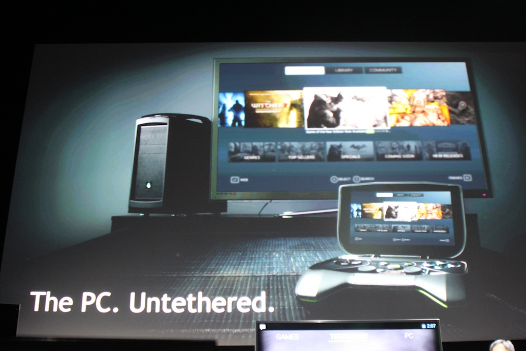 Nvidia dives into the portable console market with - Consolle porta pc ...