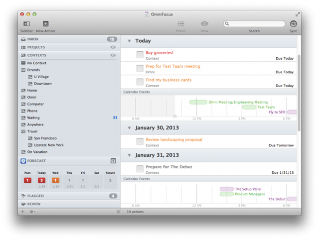 OmniFocus is getting a new look with OmniFocus 2.