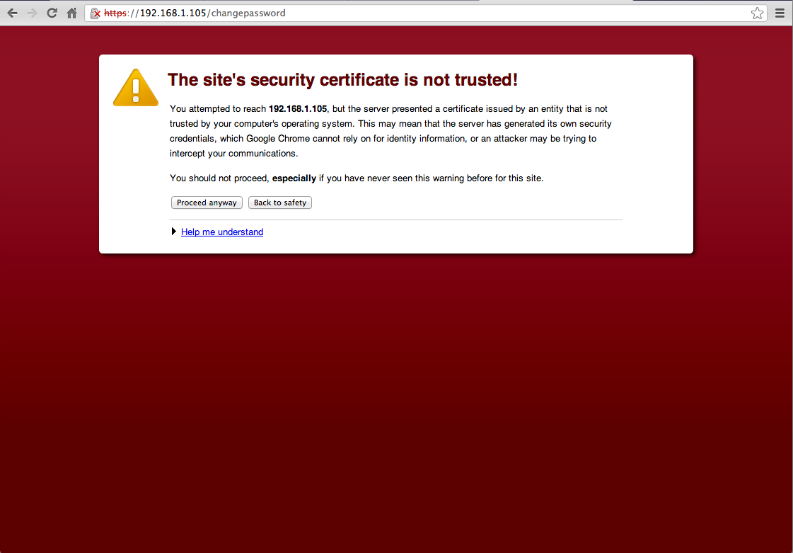 Self-signed digital certificates are significantly more susceptible to being spoofed.