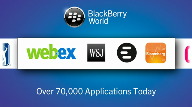 BlackBerry 10 launches with thousands of apps.