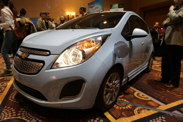 The Chevy MyLink system comes standard with 2013 Sonic, Spark, and (coming soon) Spark EV models.