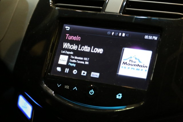 If you use TuneIn Radio on your smartphone, you can control the app using the new Chevy MyLink system.