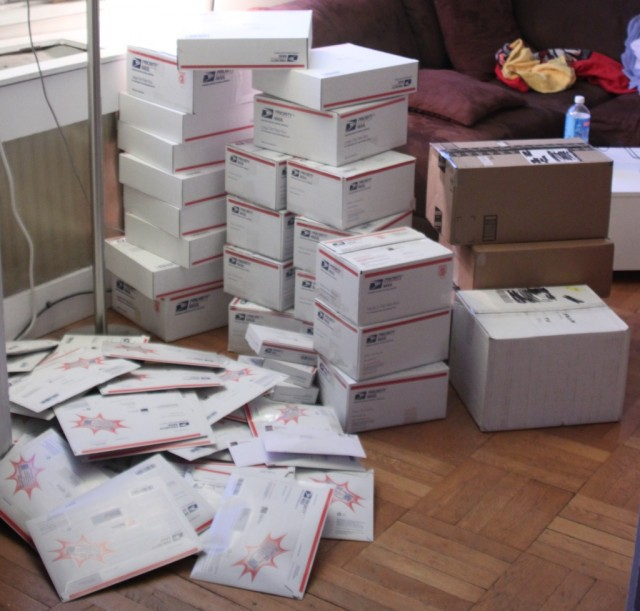 Believe it or not, this is not all of the prizes we're shipping out this year...