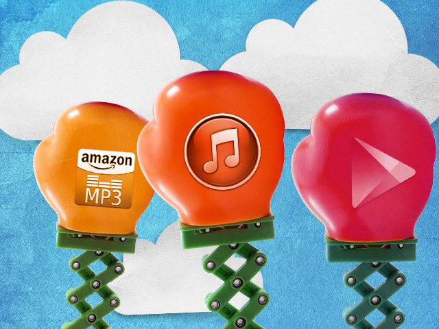 Google Music and Amazon Cloud Player take on iTunes Match. Who wins?