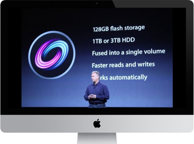 Fusion Drive comes to low-end 21.5-inch iMac for $250 extra