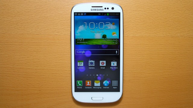 The Android phone to beat: Samsung Galaxy S III.