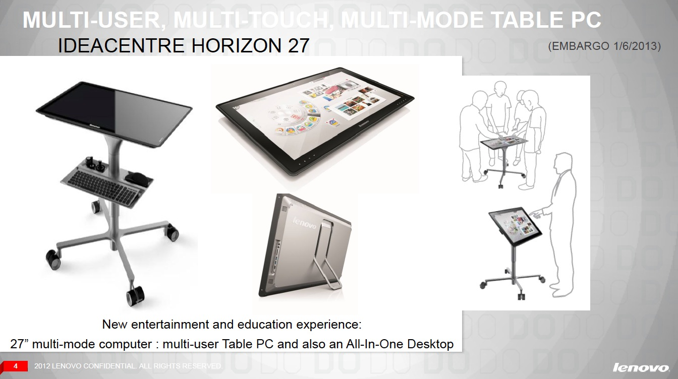 A roller table will change the Horizon into a standing workstation, when needed.