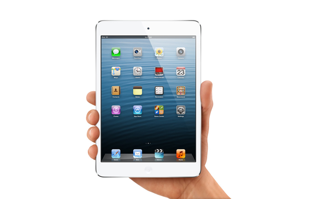 The iPad 5 is expected to ditch its fat bezels and more closely resemble the iPad mini (above).