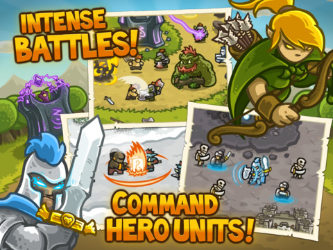 Kingdom Rush HD.