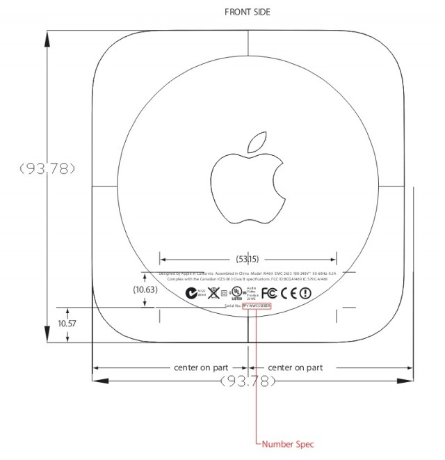 The FCC diagram that outed the new Apple TV update.