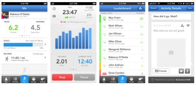 "The new features on RunKeeper 3 include an easy-to-read ""Leaderboard,"" training plans, and more."