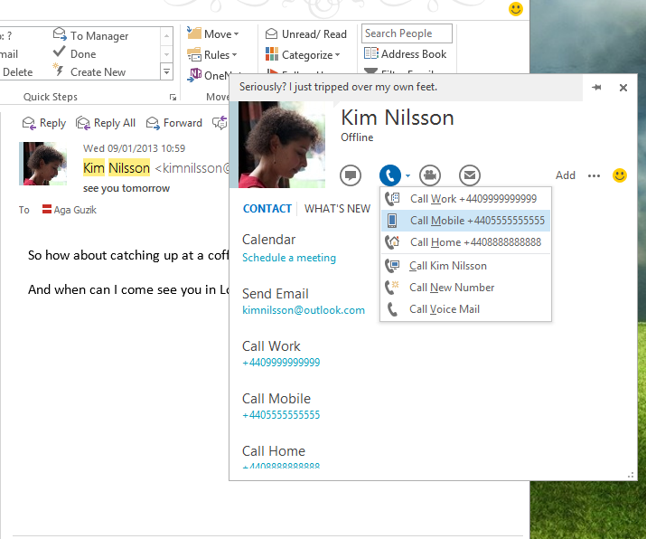 how to call 1300 numbers from skype