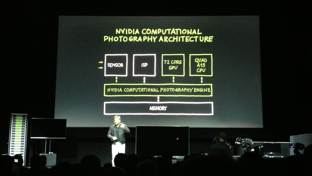"Tegra 4 promises ""real-time HDR"" photo processing, even for videos."