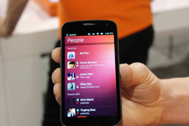 The Ubuntu People app.