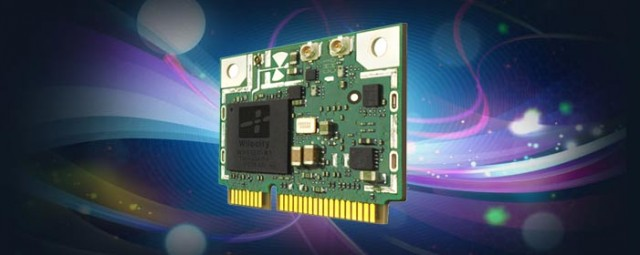 Wilocity's wireless chips allow 4.6Gbps transmission over the 60GHz band.