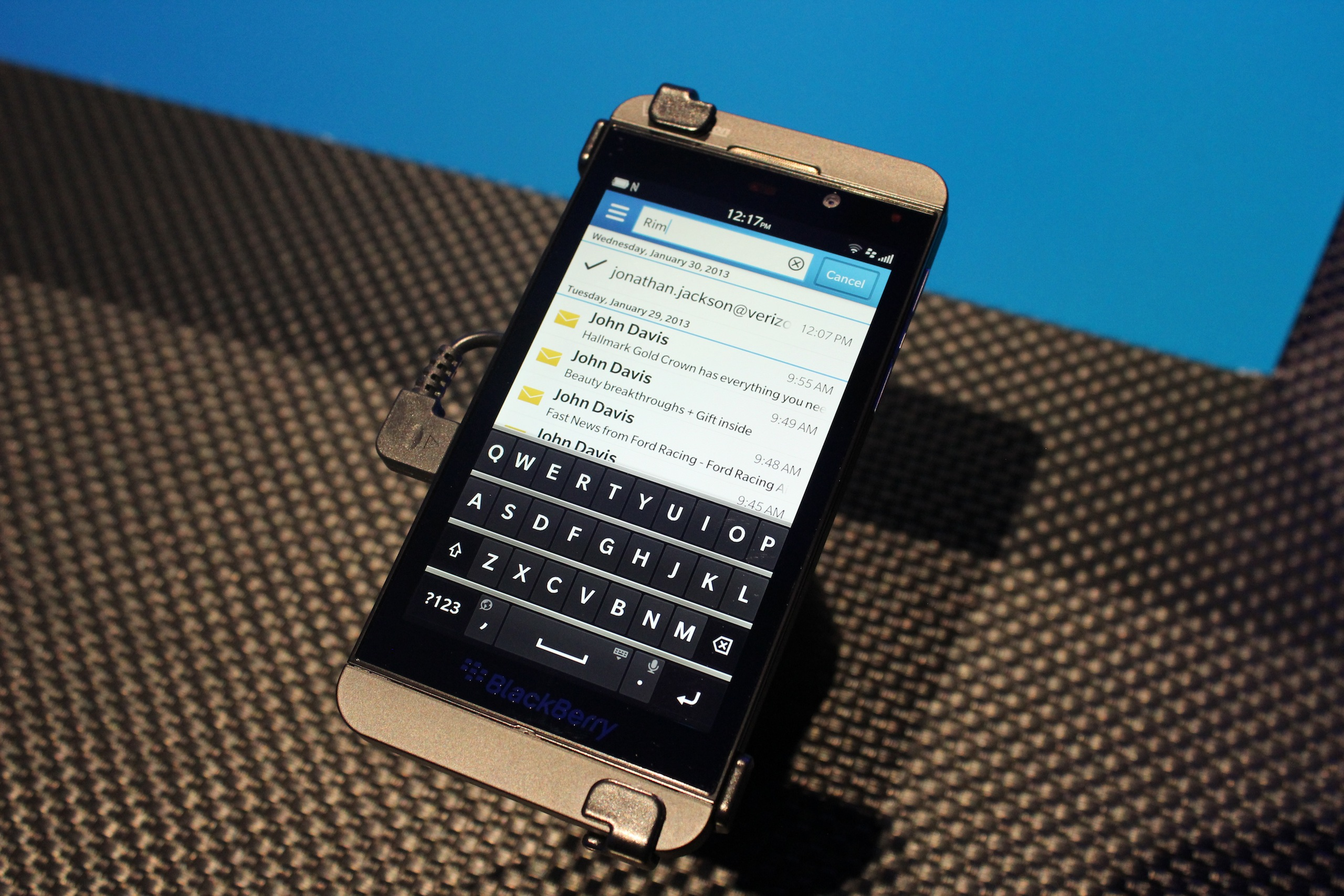 Gallery: The BlackBerry Z10 and Q10 are actual things you
