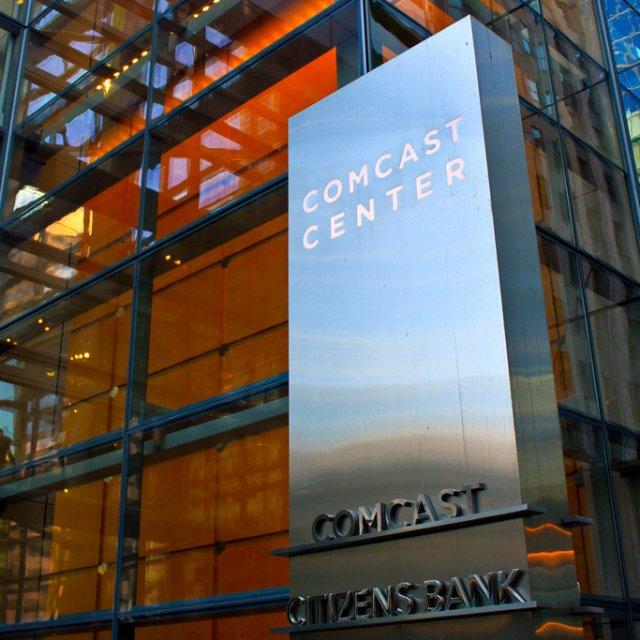 Comcast headquarters in Philadelphia.