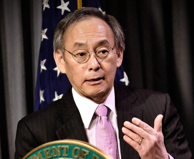 Soon-to-be former Energy Secretary Steven Chu.