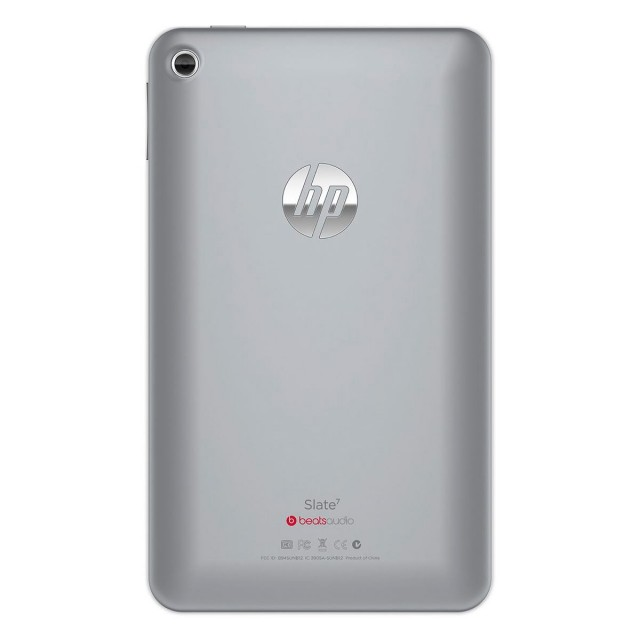 The stainless steel back might please those unhappy with the plastic backs in most 7-inch Android tablets.