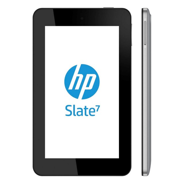 HP's Slate 7 is the company's first Android device.