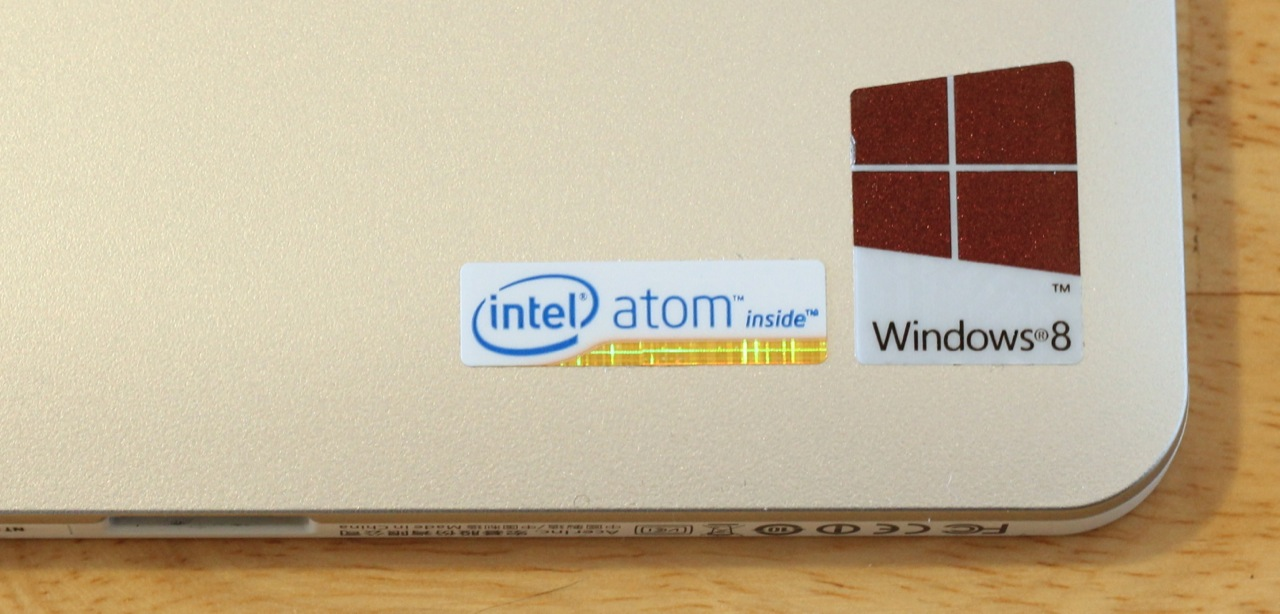 "Intel's Atom processor, codenamed ""Clover Trail,"" isn't a great performer, but it will still run legacy Windows apps and get good battery life."