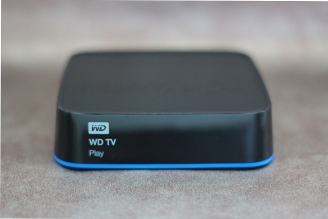 The WD TV Play looks a lot like other set-top boxes out there.