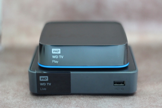 The WD TV Play is just a tad smaller than its predecessor, the WD TV Live.