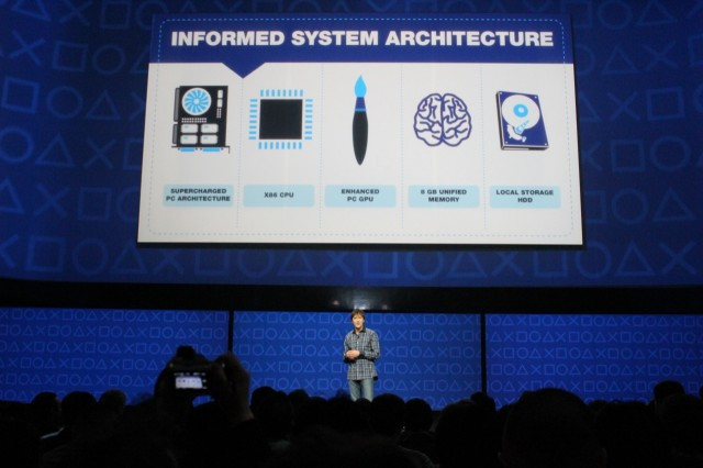 Mark Cerny gives us our first look at the PS4's internals.