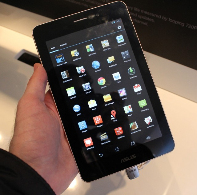 "The 7"" Asus FonePad skips ""phablet"" and goes right on up to ""tablet"" size."