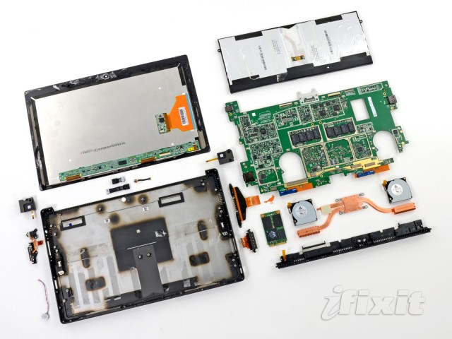 iFixit teardown shows Surface Pro is a tough nut to crack