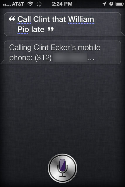 Siri can be frustrating at times, and brilliant at others.