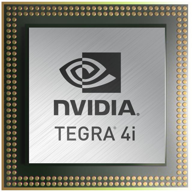The Nvidia Tegra 4i.