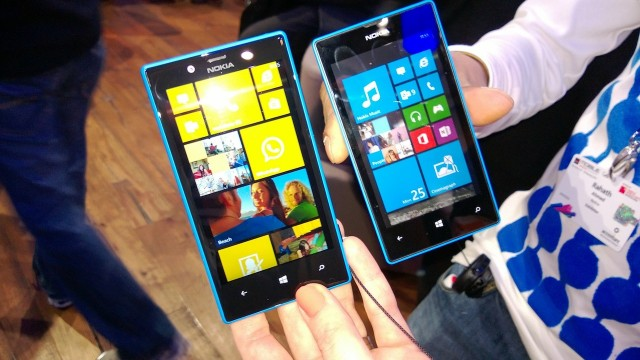Peter got a chance to take a look at Nokia's new Windows phones: the mid-tier Lumia 720, and the low-end Lumia 520.