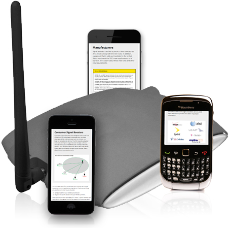 Wireless signal boosters improve cellular connections to service provider networks.