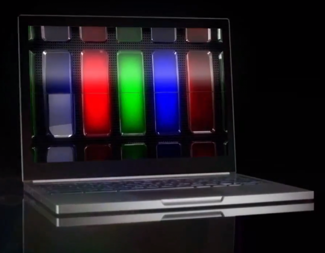 "The ""Chromebook Pixel"" ad is a slick production, but it's probably fake."