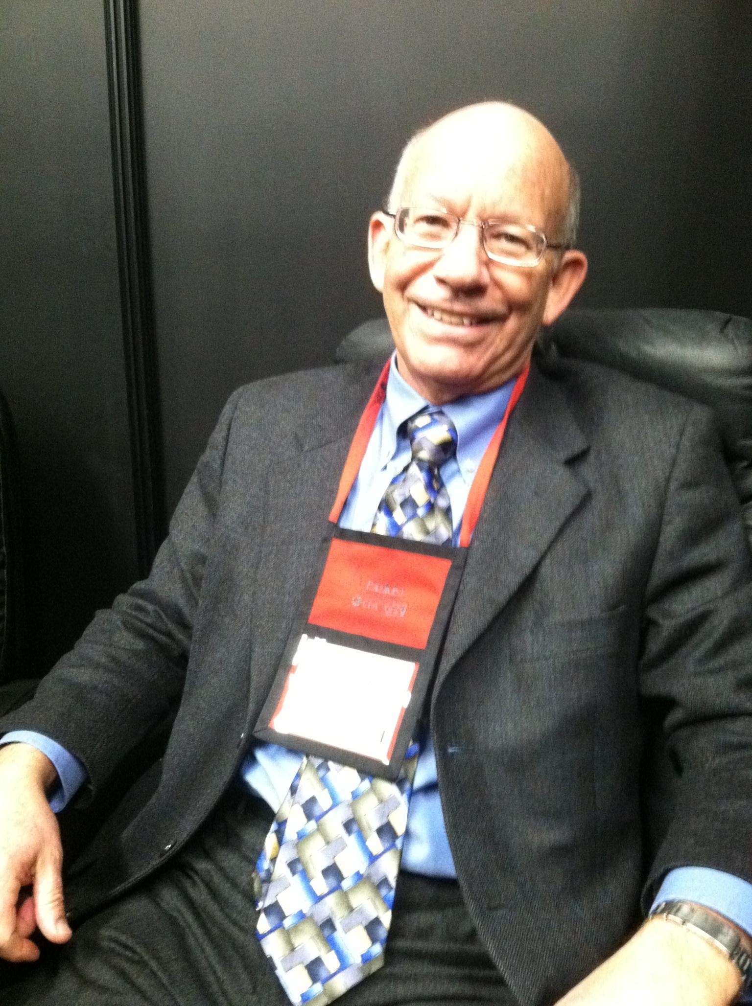 Rep. Peter DeFazio at CES 2013.