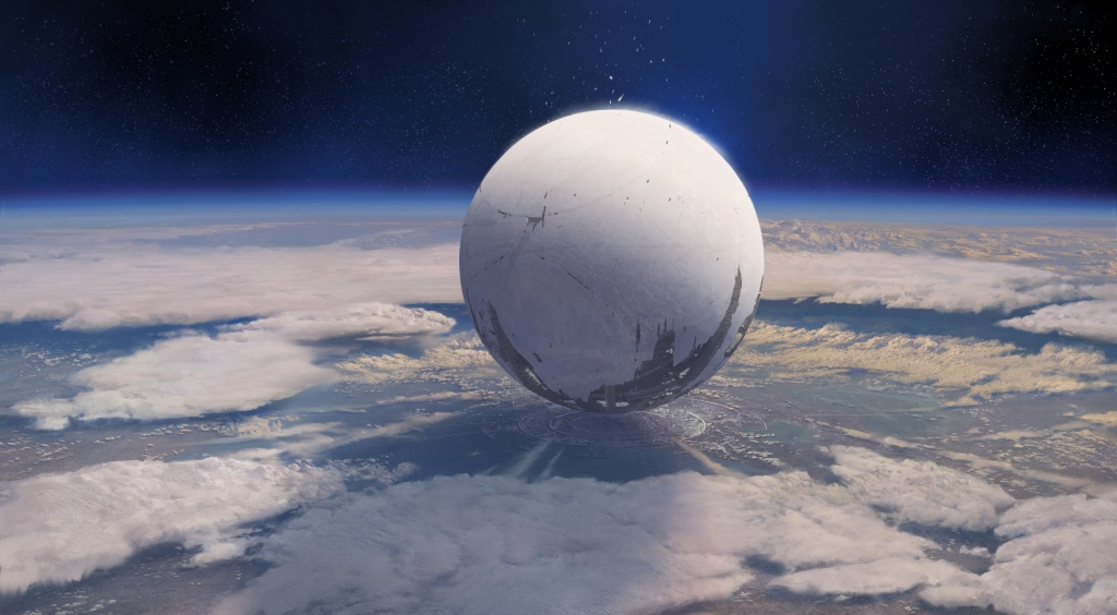 """""""So, where do you live?"""" """"Oh, you know, under the big floating orb. You?"""""""