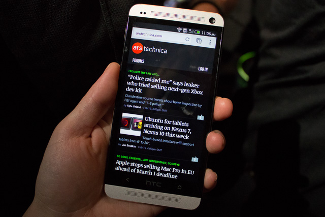 Hands-on with HTC One, a powerful phone that may not be for power users
