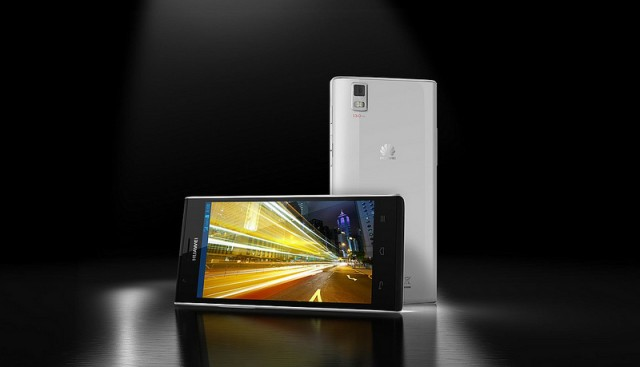 The Ascend P2, scheduled for a global launch in the middle of 2013.