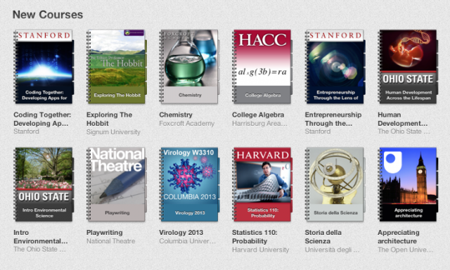 There are courses on practically every topic available for free through iTunes U.