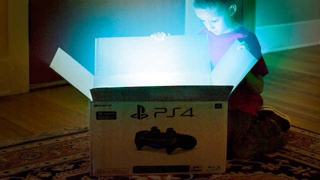 Sony didn't actually show us the PS4's casing... So what?