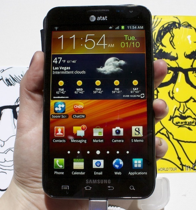 Samsung's original Galaxy Note is getting an Android 4.1.2 update.