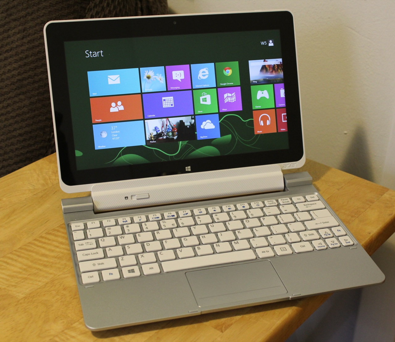 Touchpad acer iconia w510 manual