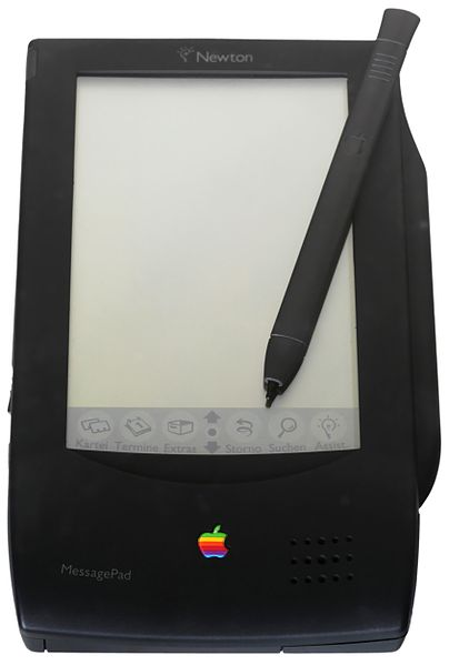 The original MessagePad 100.