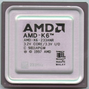 The K6 debuted in 1997 and helped AMD ascend to its strongest position.
