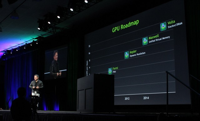 Nvidia's Jen-Hsun Huang talks up the company's GPU roadmap for 2014 and beyond.